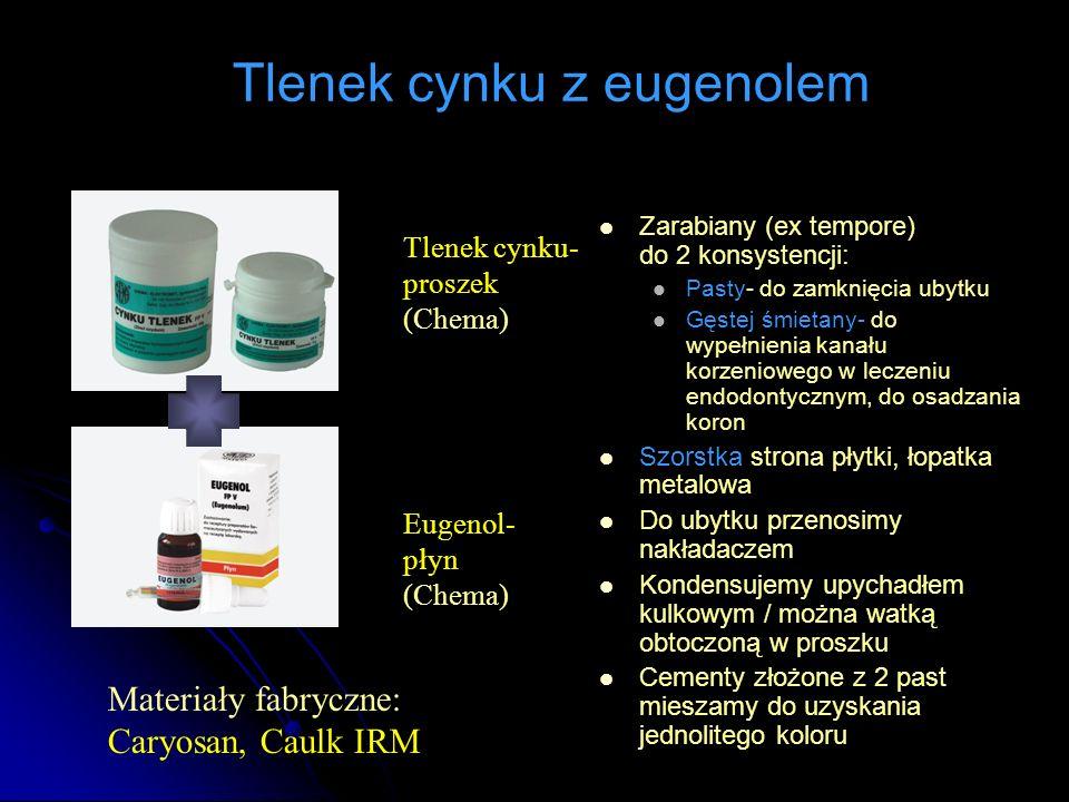 Tlenek cynku z eugenolem