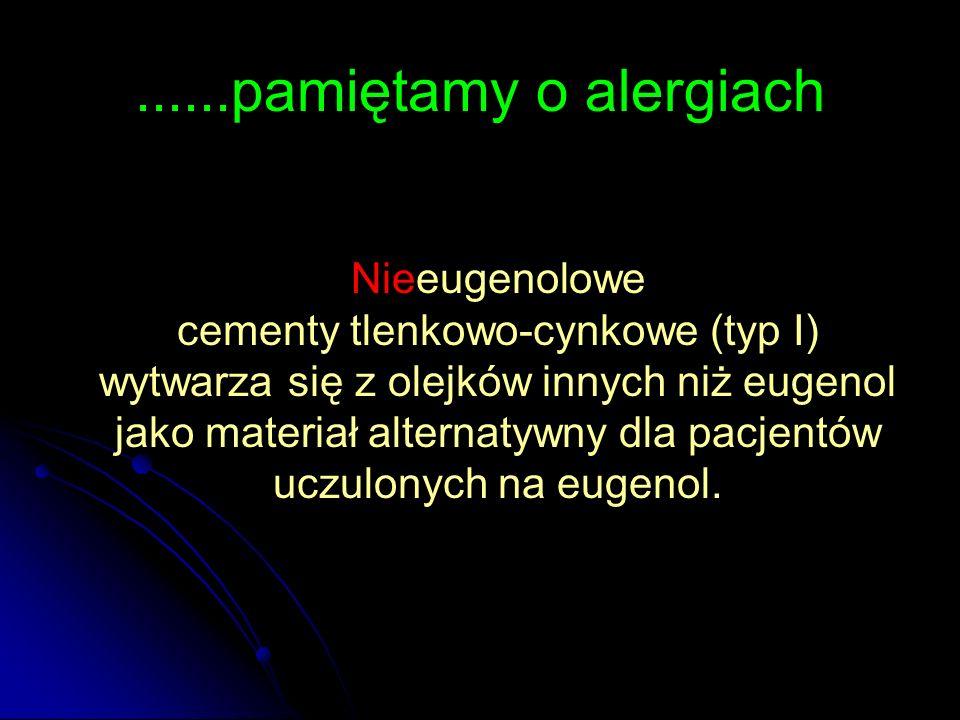 ......pamiętamy o alergiach