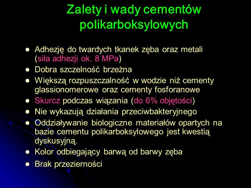 Zalety i wady cementów polikarboksylowych