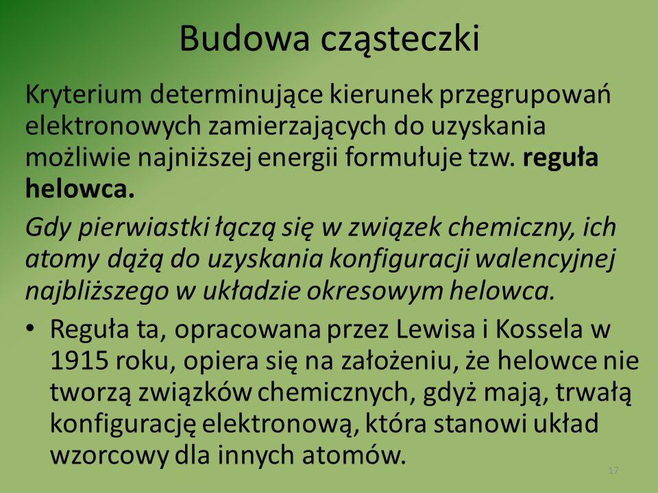 Budowa cząsteczki