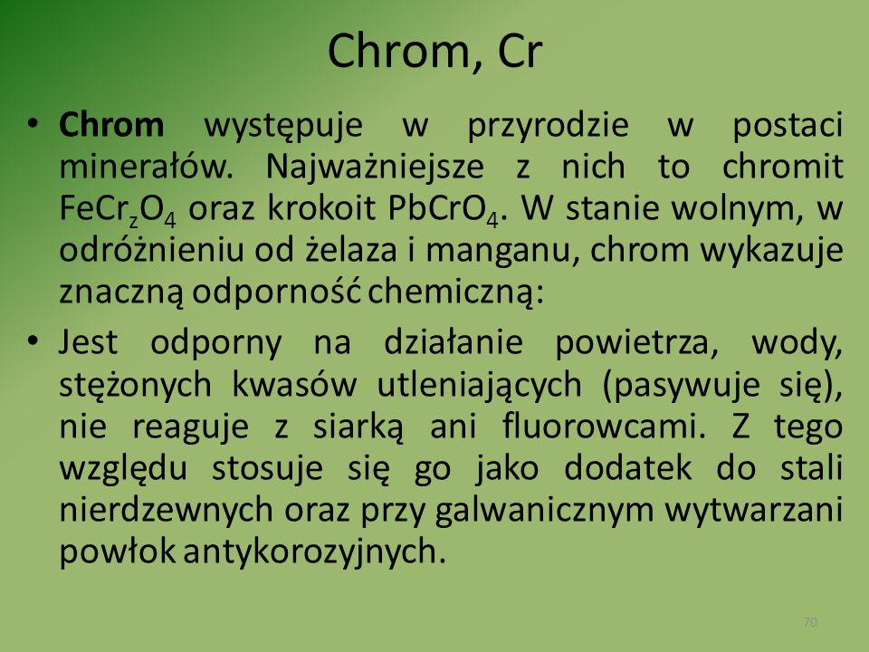Chrom, Cr