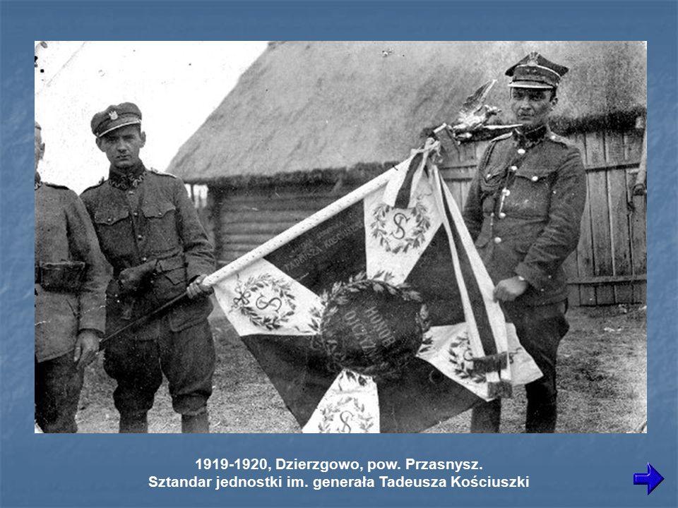 1919-1920, Dzierzgowo, pow. Przasnysz.