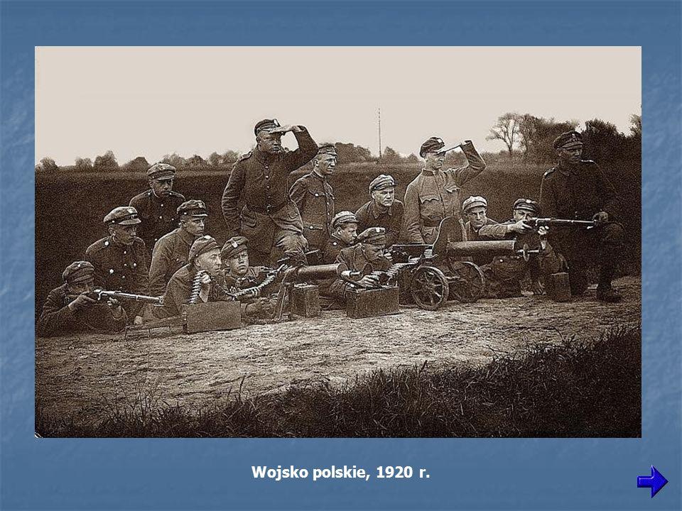 Wojsko polskie, 1920 r.