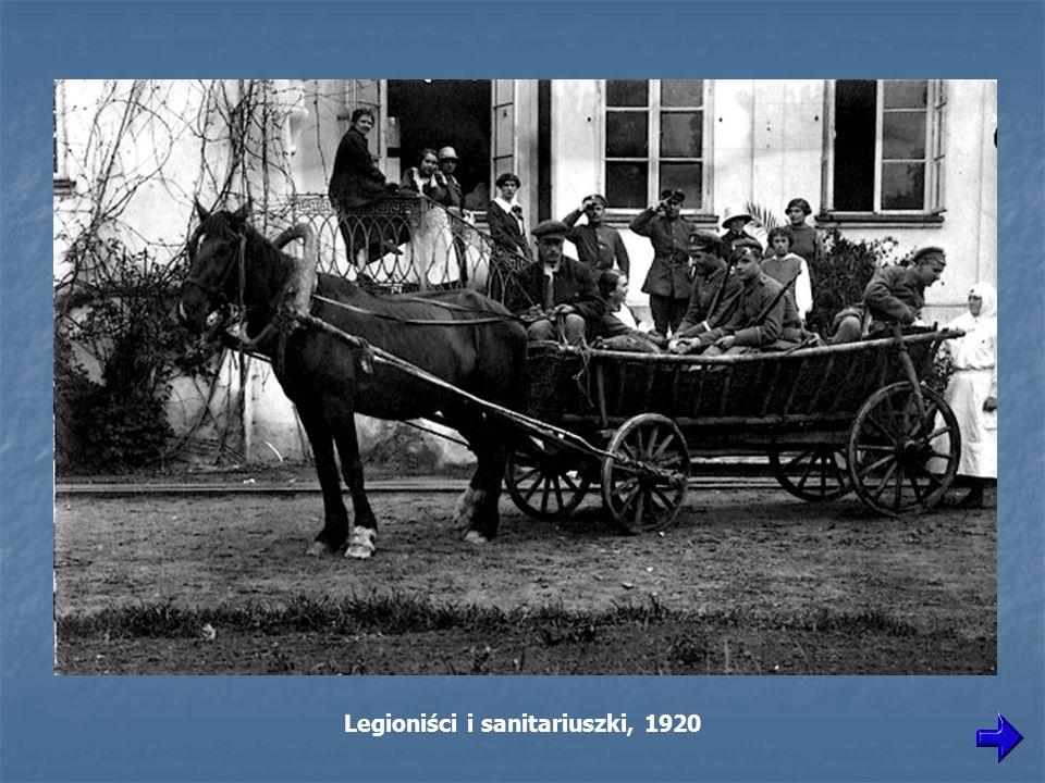 Legioniści i sanitariuszki, 1920