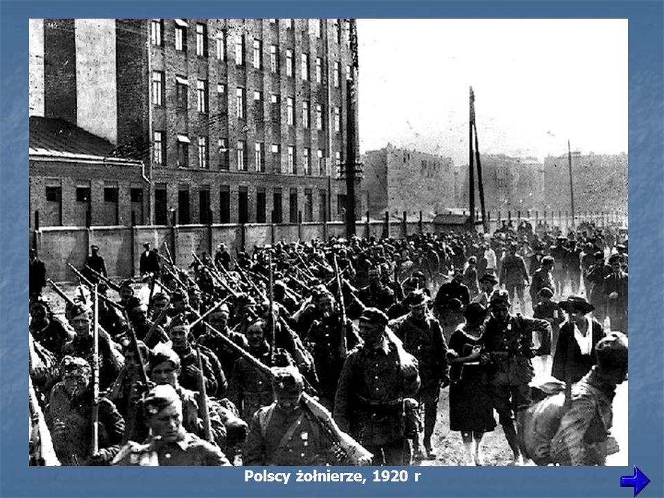 Polscy żołnierze, 1920 r