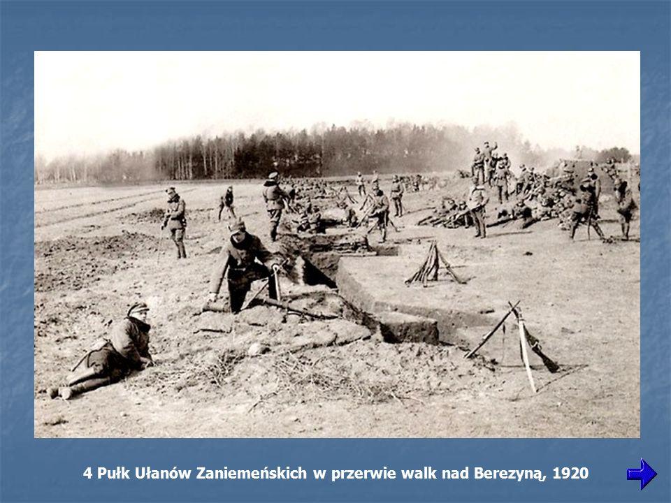 4 Pułk Ułanów Zaniemeńskich w przerwie walk nad Berezyną, 1920