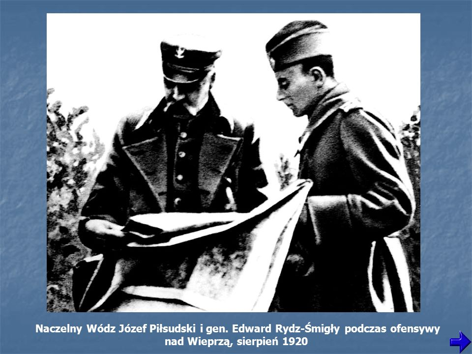 Naczelny Wódz Józef Piłsudski i gen