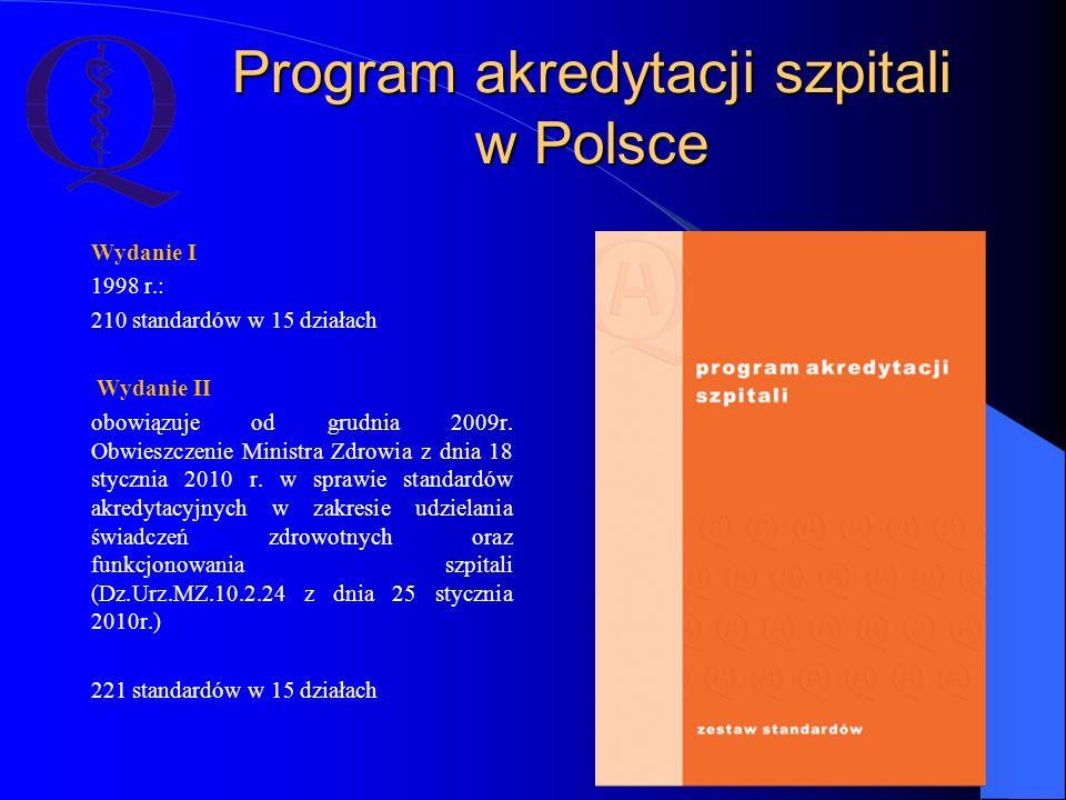Program akredytacji szpitali w Polsce