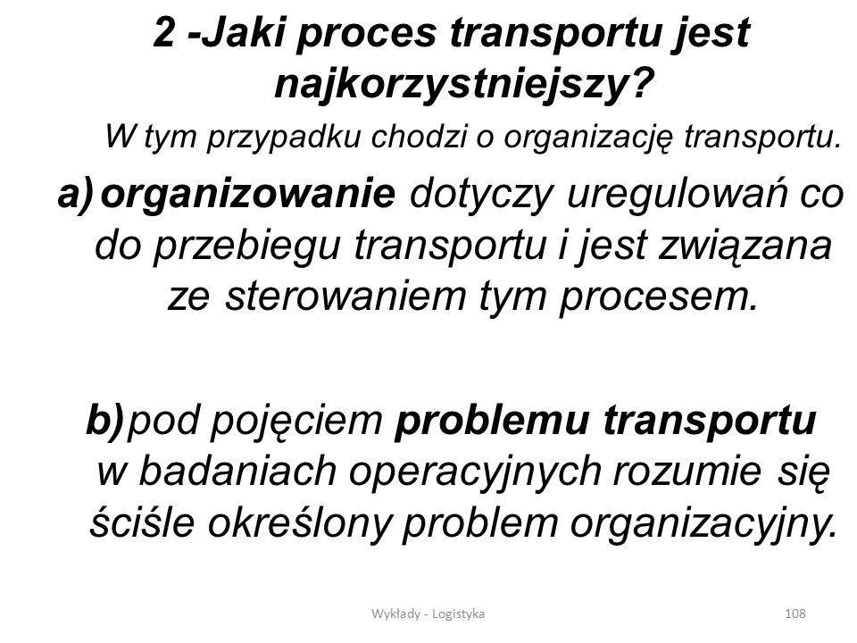 2 -Jaki proces transportu jest najkorzystniejszy