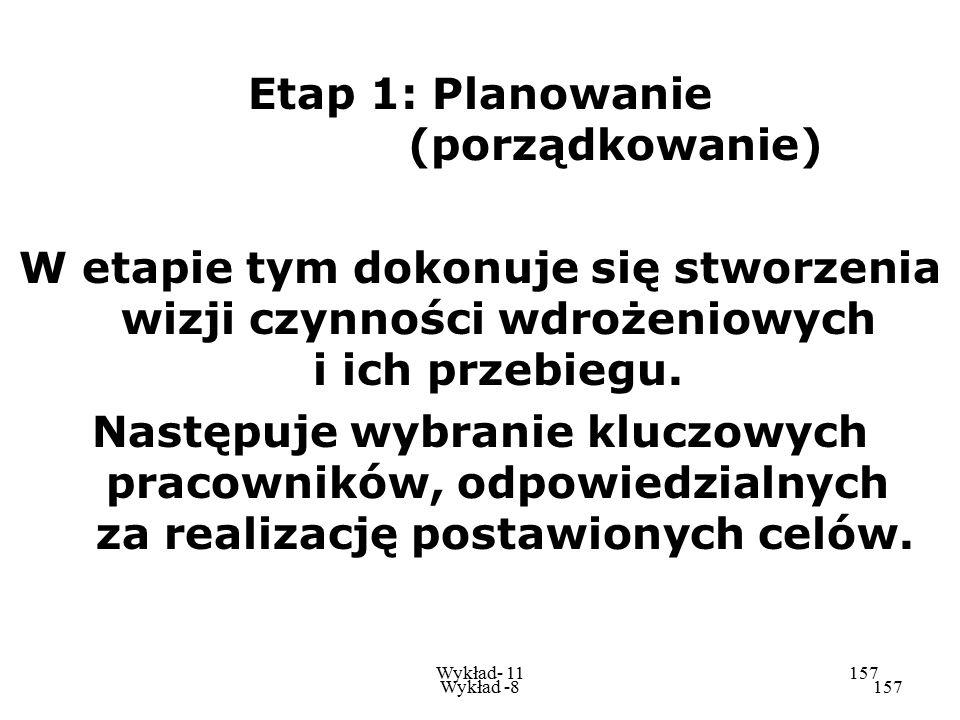 Etap 1: Planowanie (porządkowanie)