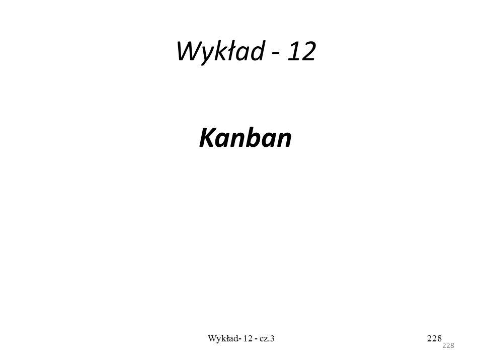 Wykład - 12 Kanban Wykład- 12 - cz.3 228