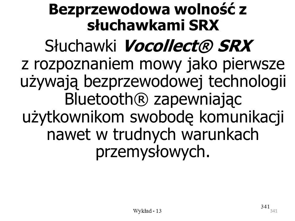 Bezprzewodowa wolność z słuchawkami SRX