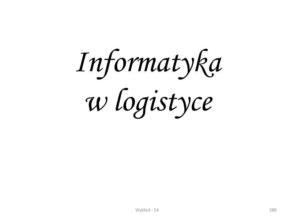 Informatyka w logistyce