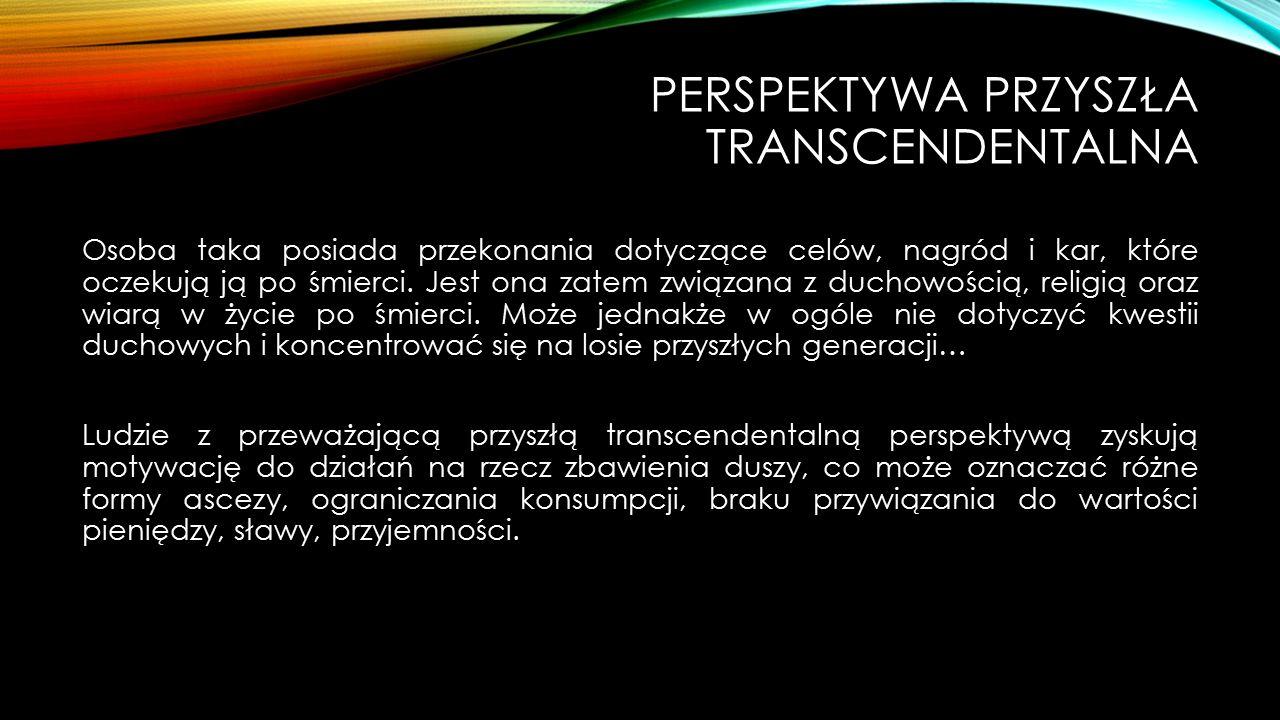 Perspektywa Przyszła transcendentalna