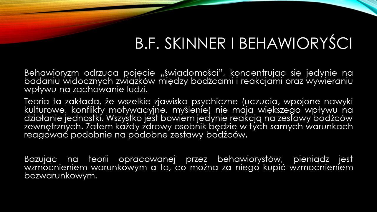 B.F. Skinner i behawioryści