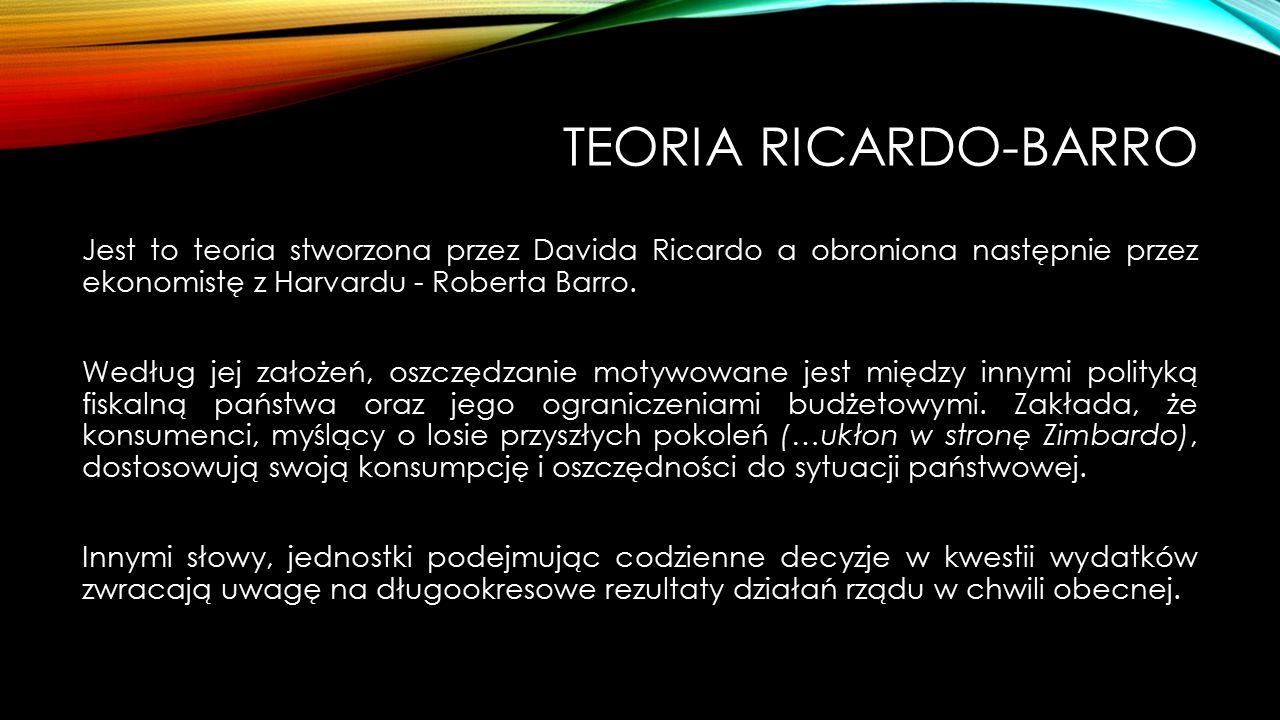 Teoria Ricardo-Barro