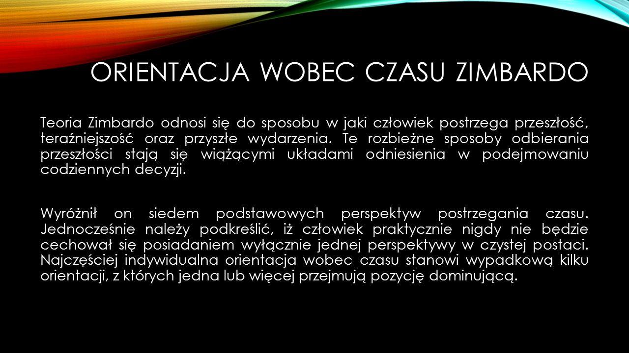 Orientacja wobec czasu Zimbardo