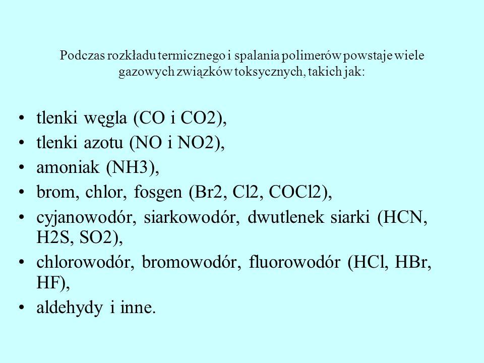 brom, chlor, fosgen (Br2, Cl2, COCl2),