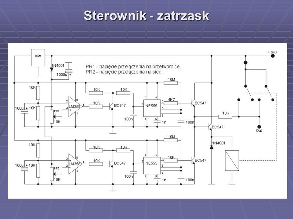 Sterownik - zatrzask