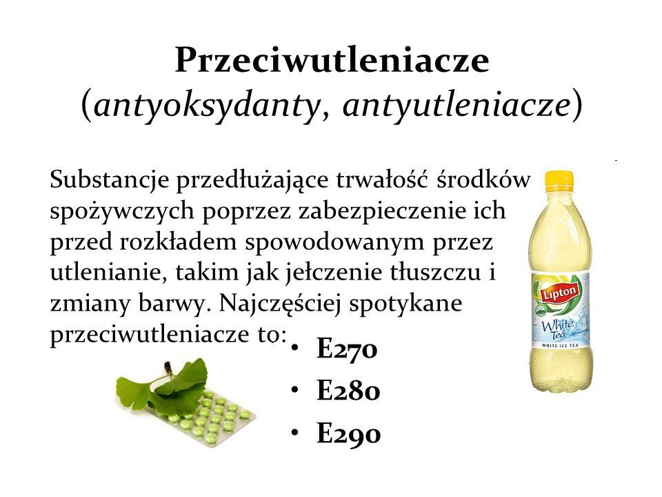 Przeciwutleniacze (antyoksydanty, antyutleniacze)