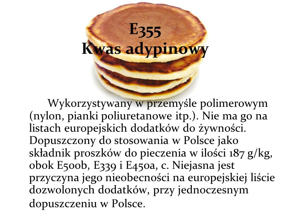 E355 Kwas adypinowy