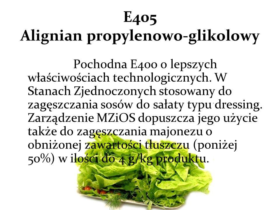 E405 Alignian propylenowo-glikolowy