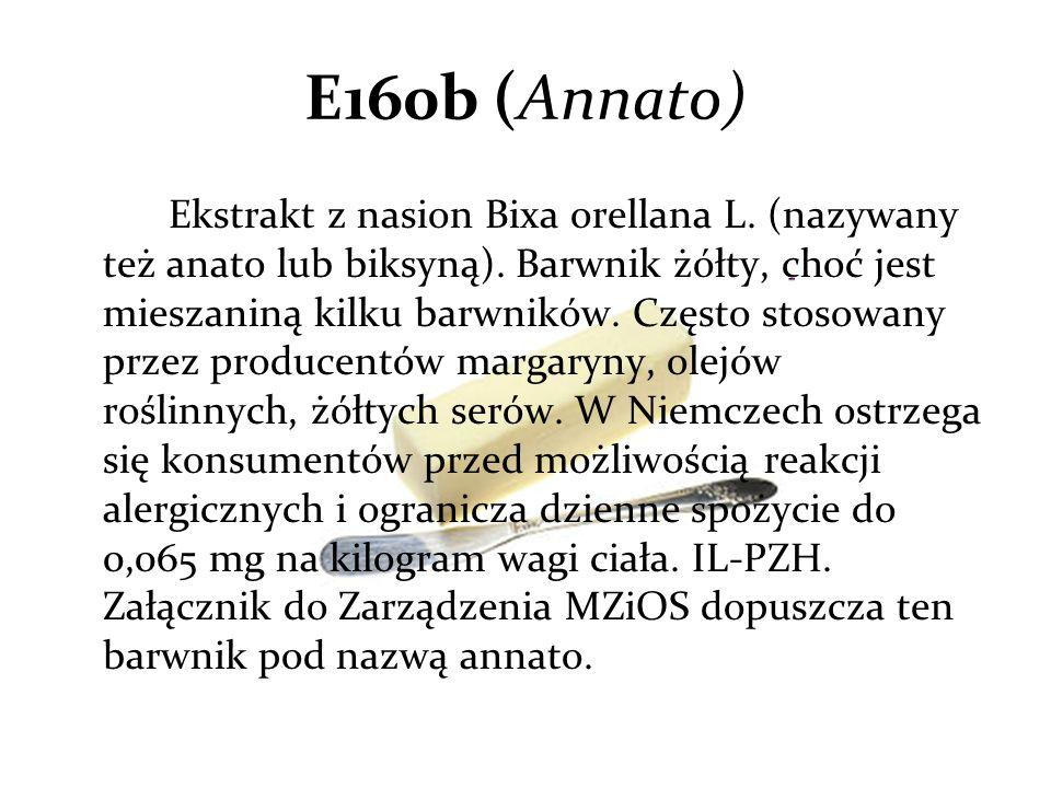 E160b (Annato)