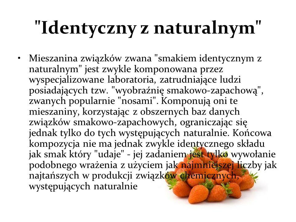 Identyczny z naturalnym