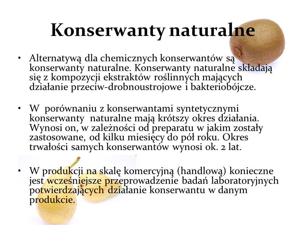 Konserwanty naturalne