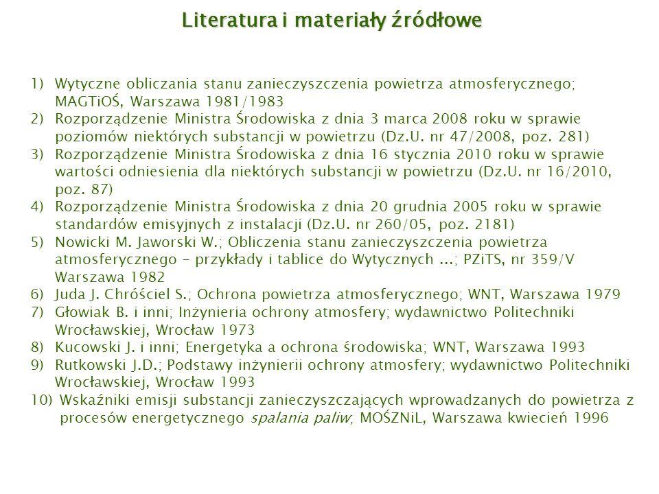 Literatura i materiały źródłowe