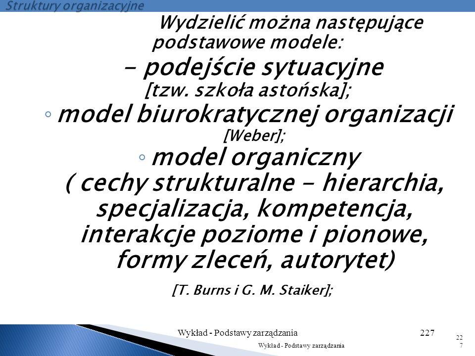 Struktury organizacyjne