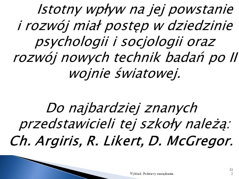 Istotny wpływ na jej powstanie i rozwój miał postęp w dziedzinie psychologii i socjologii oraz rozwój nowych technik badań po II wojnie światowej.