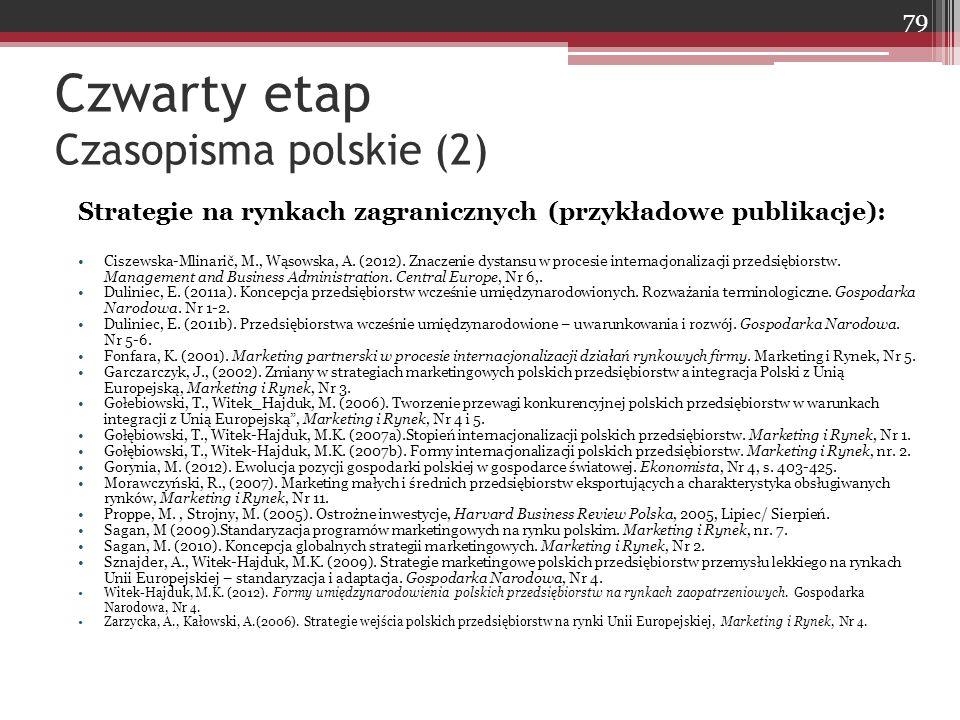 Czwarty etap Czasopisma polskie (2)