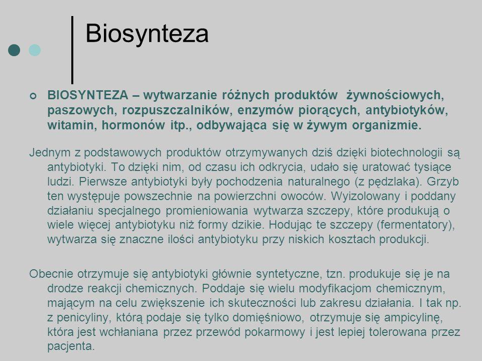 Biosynteza