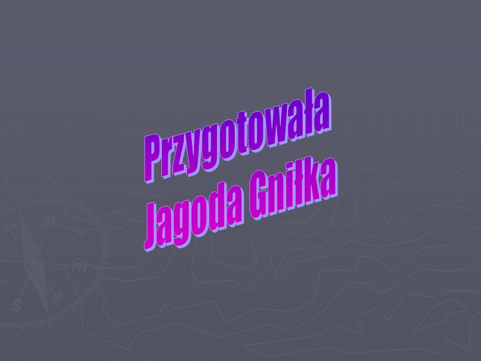 Przygotowała Jagoda Gniłka