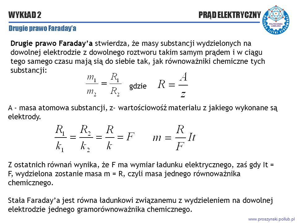 Drugie prawo Faraday'a