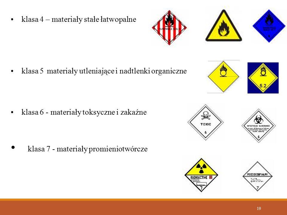 klasa 7 - materiały promieniotwórcze