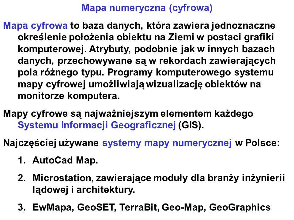 Mapa numeryczna (cyfrowa)