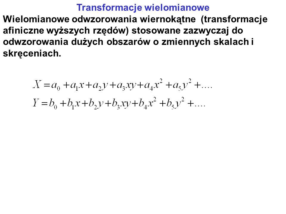 Transformacje wielomianowe