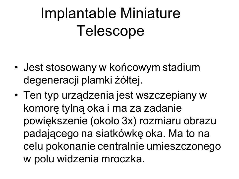 Implantable Miniature Telescope