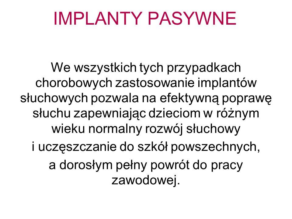 IMPLANTY PASYWNE