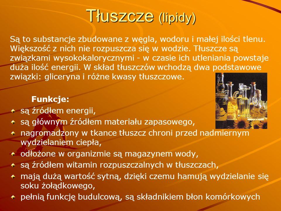 Tłuszcze (lipidy)