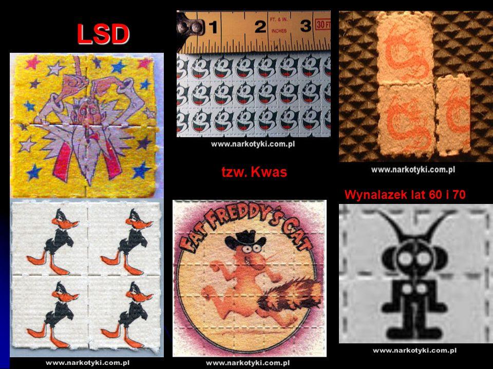 LSD tzw. Kwas Wynalazek lat 60 i 70