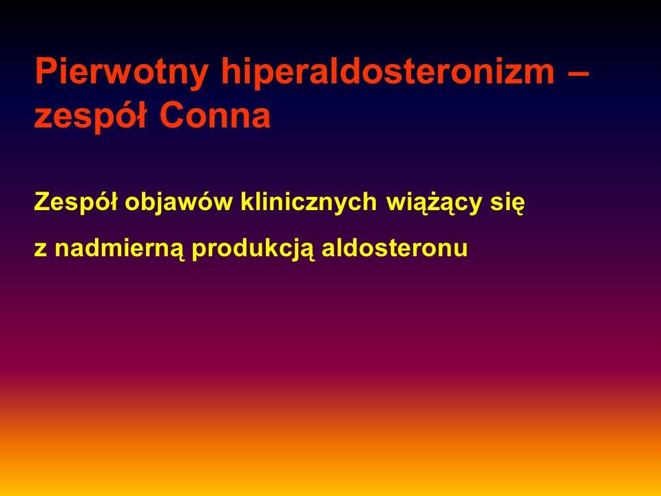 Pierwotny hiperaldosteronizm – zespół Conna