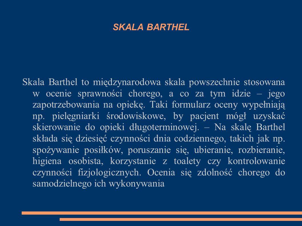 SKALA BARTHEL