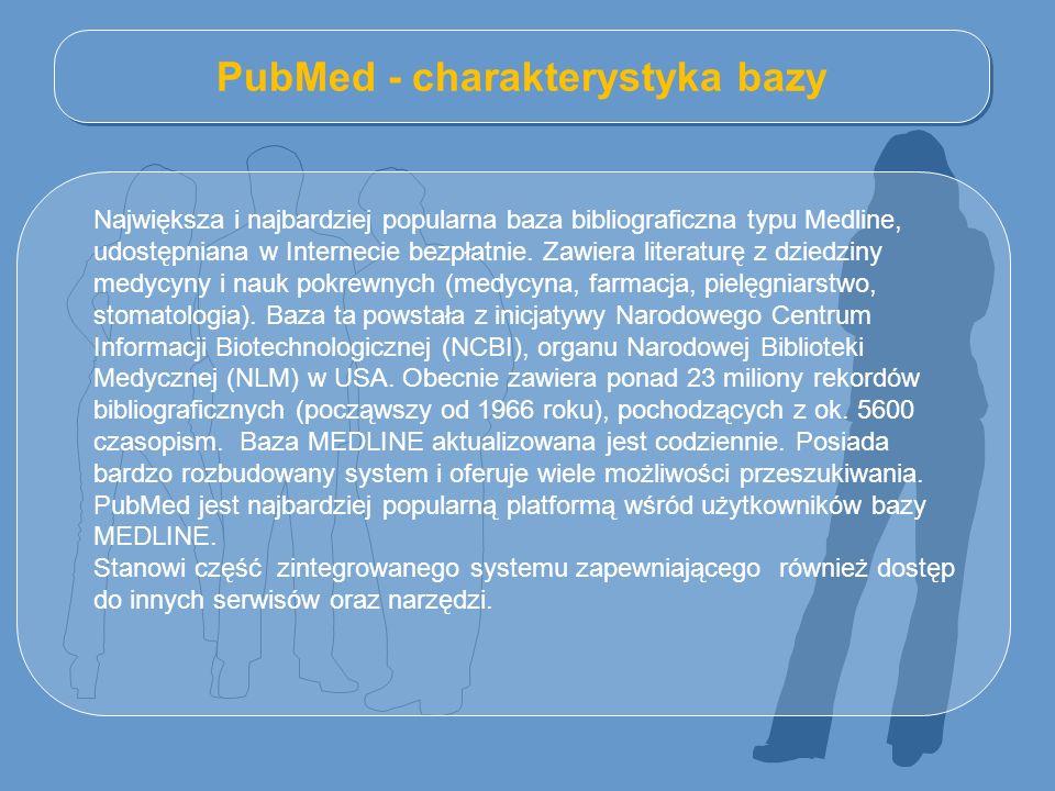 PubMed - charakterystyka bazy