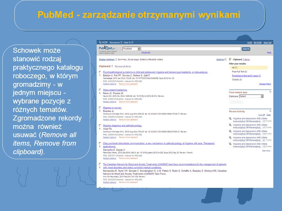 PubMed - zarządzanie otrzymanymi wynikami
