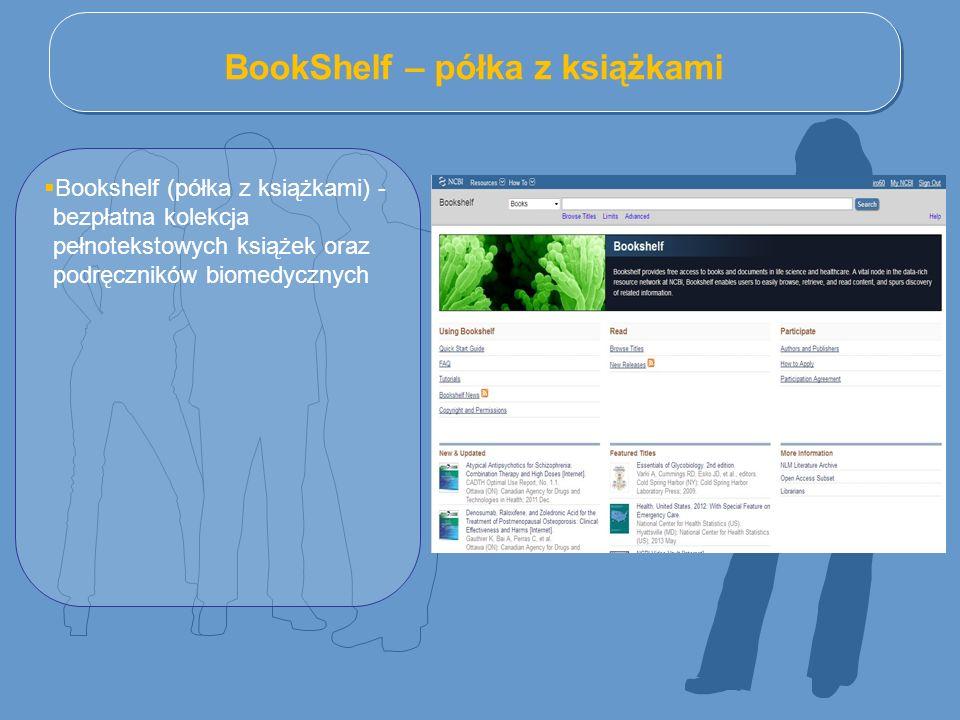 BookShelf – półka z książkami