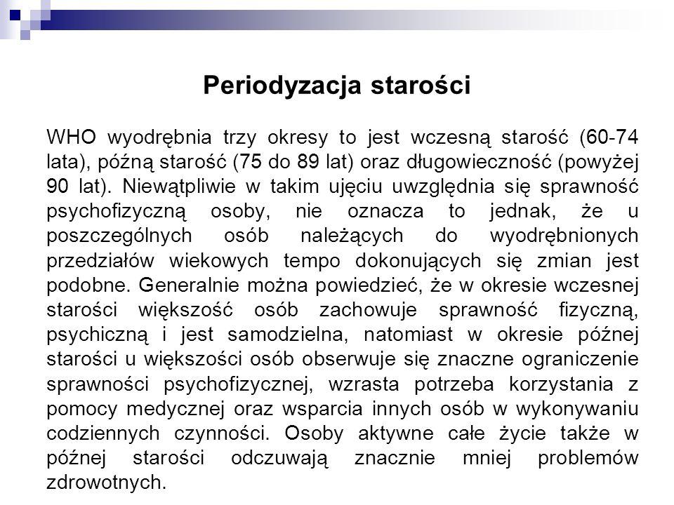 Periodyzacja starości