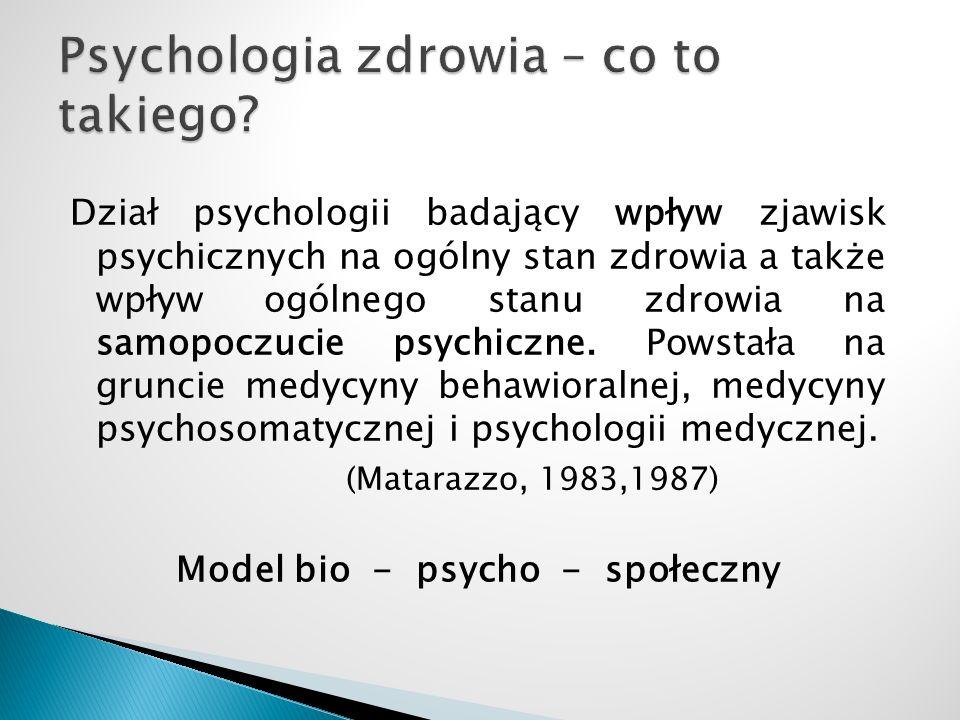 Psychologia zdrowia – co to takiego